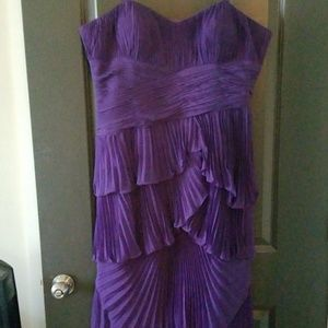 Dresses & Skirts - Sonia Winchester Formal Purple Tiered Dress